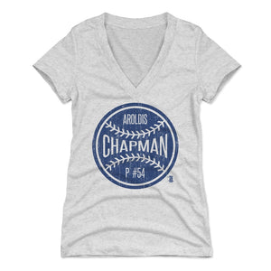 Aroldis Chapman Women's V-Neck T-Shirt | 500 LEVEL