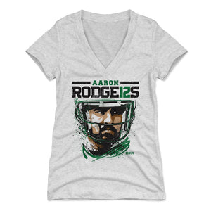 Aaron Rodgers Women's V-Neck T-Shirt | 500 LEVEL