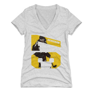 Patrice Bergeron Women's V-Neck T-Shirt | 500 LEVEL