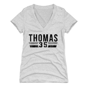 Frank Thomas Women's V-Neck T-Shirt | 500 LEVEL