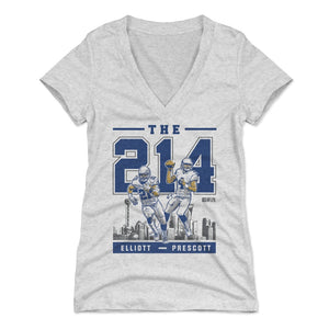 Ezekiel Elliott Women's V-Neck T-Shirt | 500 LEVEL