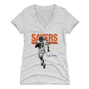 Gale Sayers Women's V-Neck T-Shirt | 500 LEVEL