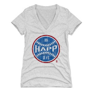 Ian Happ Women's V-Neck T-Shirt | 500 LEVEL