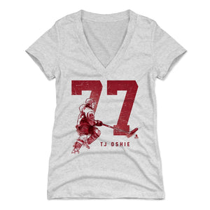 T.J. Oshie Women's V-Neck T-Shirt | 500 LEVEL