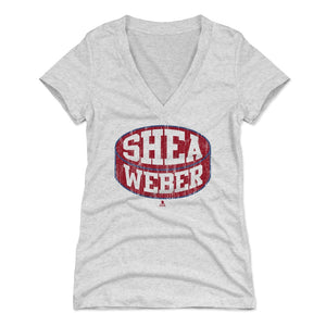 Shea Weber Women's V-Neck T-Shirt | 500 LEVEL