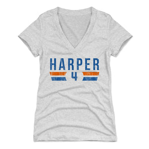 Ron Harper Women's V-Neck T-Shirt | 500 LEVEL