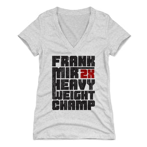 Frank Mir Women's V-Neck T-Shirt | 500 LEVEL