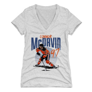 Connor McDavid Women's V-Neck T-Shirt | 500 LEVEL