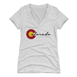 Colorado Women's V-Neck T-Shirt | 500 LEVEL
