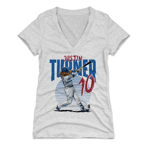 Justin Turner Women's V-Neck T-Shirt | 500 LEVEL