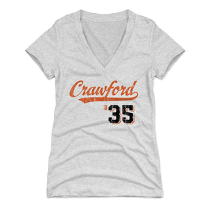 Brandon Crawford Women's V-Neck T-Shirt | 500 LEVEL