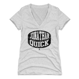 Jonathan Quick Women's V-Neck T-Shirt | 500 LEVEL