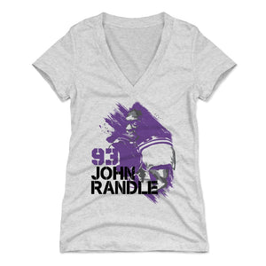 John Randle Women's V-Neck T-Shirt | 500 LEVEL