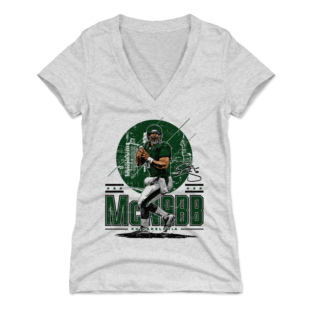 Donovan McNabb Women's V-Neck T-Shirt | 500 LEVEL