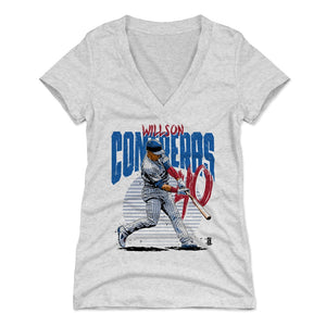 Willson Contreras Women's V-Neck T-Shirt | 500 LEVEL