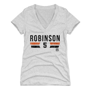 Brooks Robinson Women's V-Neck T-Shirt | 500 LEVEL