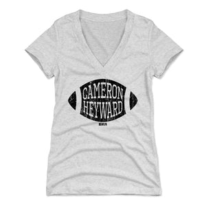 Cameron Heyward Women's V-Neck T-Shirt | 500 LEVEL