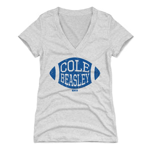 Cole Beasley Women's V-Neck T-Shirt | 500 LEVEL
