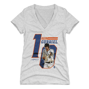 Yuli Gurriel Women's V-Neck T-Shirt | 500 LEVEL
