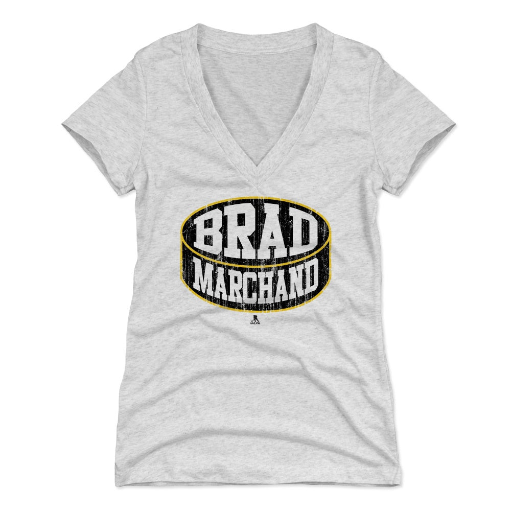 Brad Marchand Women's V-Neck T-Shirt | 500 LEVEL