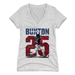 Byron Buxton Women's V-Neck T-Shirt | 500 LEVEL