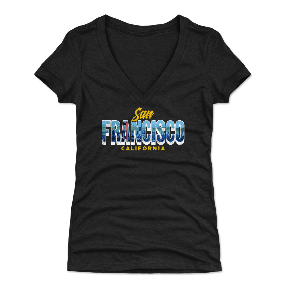 San Francisco Women's V-Neck T-Shirt | 500 LEVEL