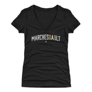 Jonathan Marchessault Women's V-Neck T-Shirt | 500 LEVEL