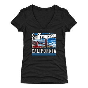 San Diego Women's V-Neck T-Shirt | 500 LEVEL