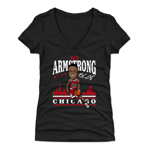 B.J. Armstrong Women's V-Neck T-Shirt | 500 LEVEL