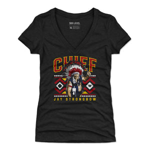 Chief Jay Strongbow Women's V-Neck T-Shirt | 500 LEVEL