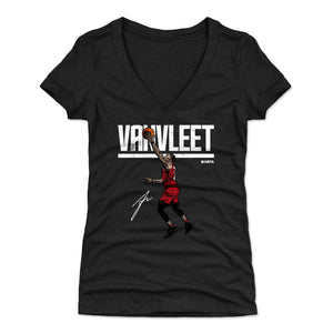 Fred VanVleet Women's V-Neck T-Shirt | 500 LEVEL
