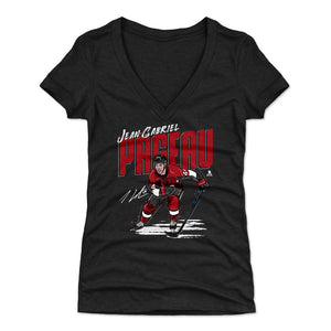 Jean-Gabriel Pageau Women's V-Neck T-Shirt | 500 LEVEL