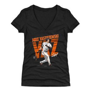 Mike Yastrzemski Women's V-Neck T-Shirt | 500 LEVEL