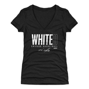 Coby White Women's V-Neck T-Shirt | 500 LEVEL