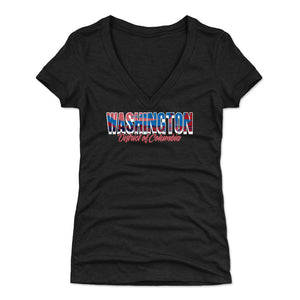 Washington D.C. Women's V-Neck T-Shirt | 500 LEVEL