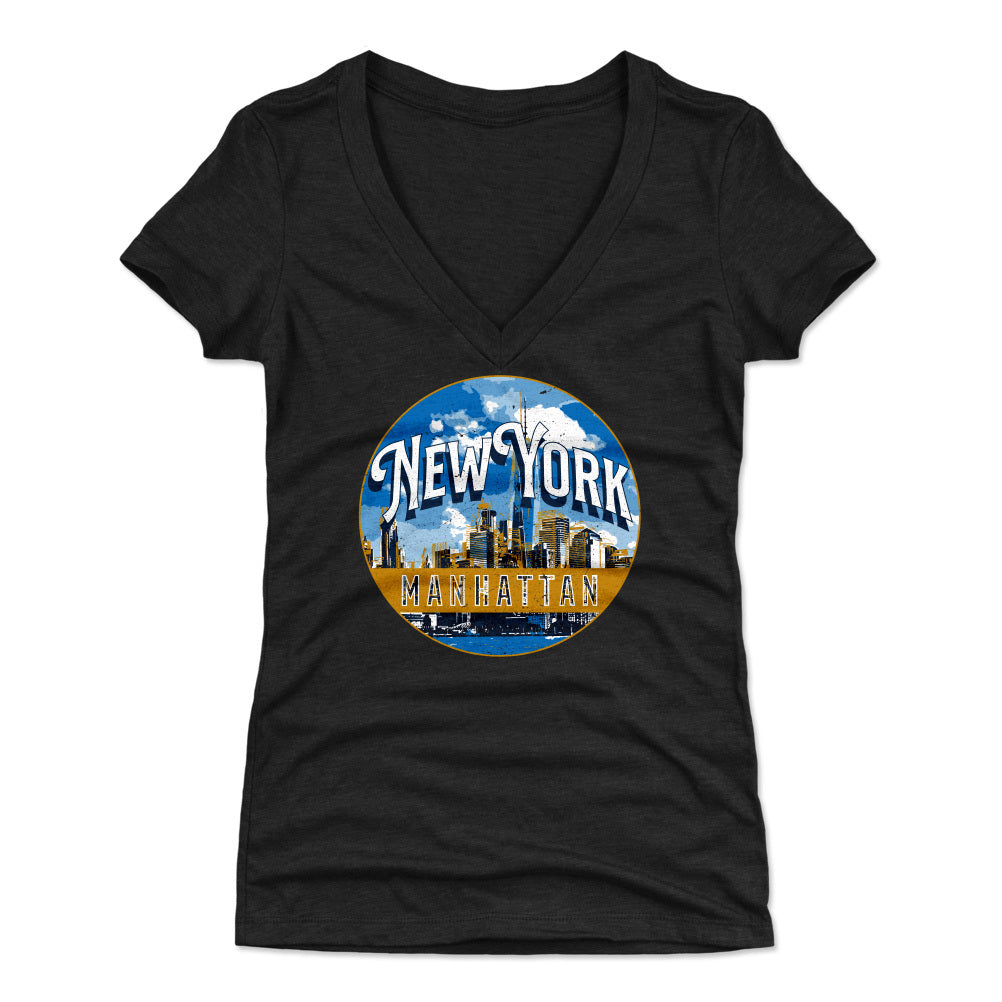 Manhattan Women's V-Neck T-Shirt | 500 LEVEL