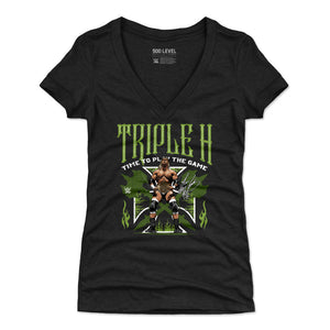Triple H Women's V-Neck T-Shirt | 500 LEVEL