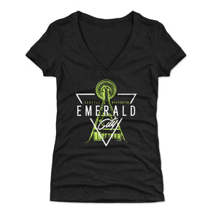 Seattle Women's V-Neck T-Shirt | 500 LEVEL