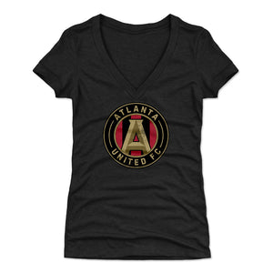 Atlanta United FC Women's V-Neck T-Shirt | 500 LEVEL