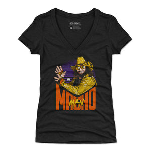 Macho Man Women's V-Neck T-Shirt | 500 LEVEL