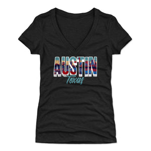 Austin Women's V-Neck T-Shirt | 500 LEVEL
