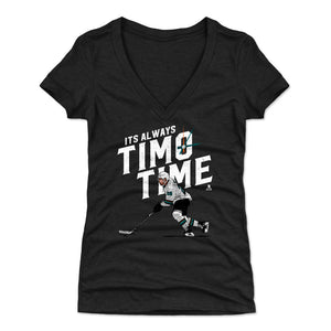 Timo Meier Women's V-Neck T-Shirt | 500 LEVEL