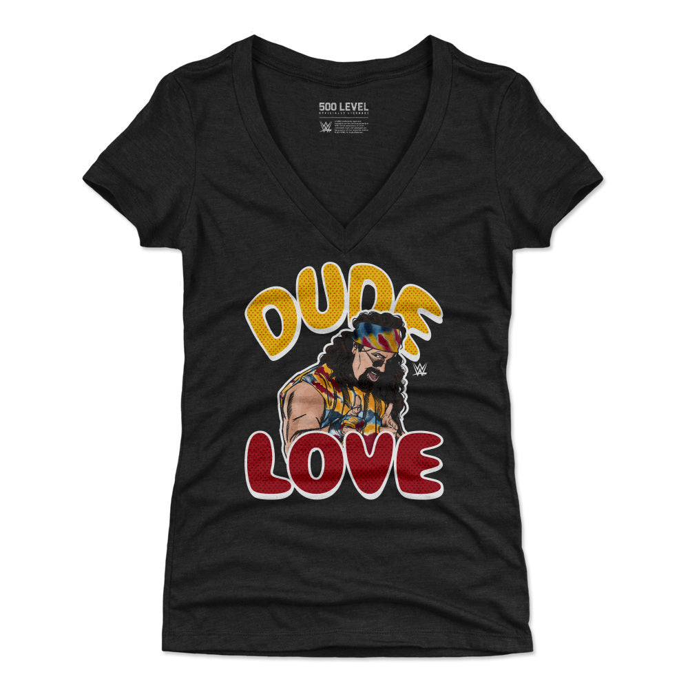Dude Love Women's V-Neck T-Shirt | 500 LEVEL
