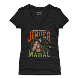 Jinder Mahal Women's V-Neck T-Shirt | 500 LEVEL