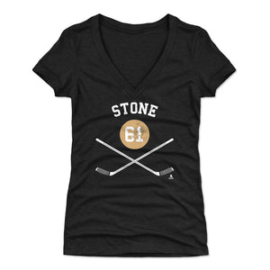 Mark Stone Women's V-Neck T-Shirt | 500 LEVEL