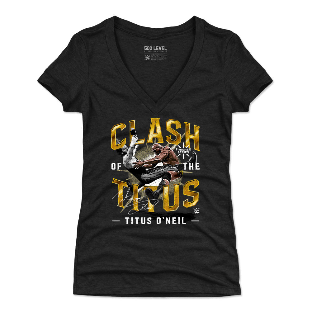 Titus O'Neil Women's V-Neck T-Shirt | 500 LEVEL
