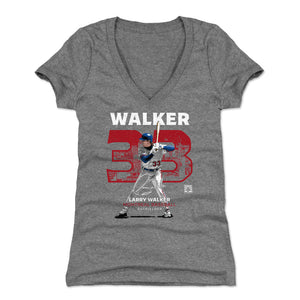 Larry Walker Women's V-Neck T-Shirt | 500 LEVEL