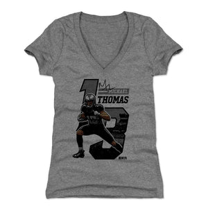 Michael Thomas Women's V-Neck T-Shirt | 500 LEVEL