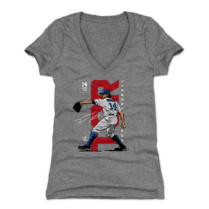 Tanner Roark Women's V-Neck T-Shirt | 500 LEVEL