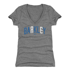 Saquon Barkley Women's V-Neck T-Shirt | 500 LEVEL